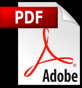 Symbol pdf-Dokument